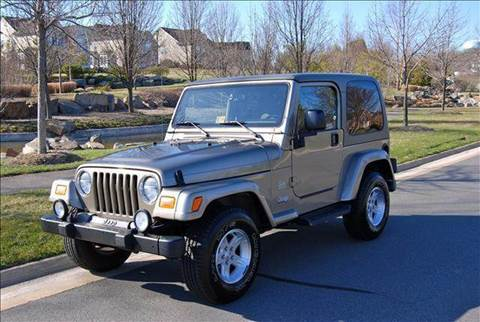 2004 Jeep Wrangler for sale at Blue Line Motors in Winchester VA