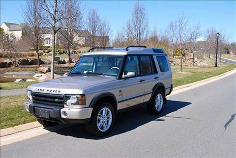 2003 Land Rover Discovery for sale at Blue Line Motors in Winchester VA