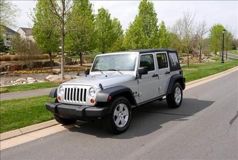2007 Jeep Wrangler for sale at Blue Line Motors in Winchester VA