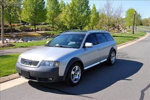 2001 Audi Allroad for sale at Blue Line Motors in Winchester VA