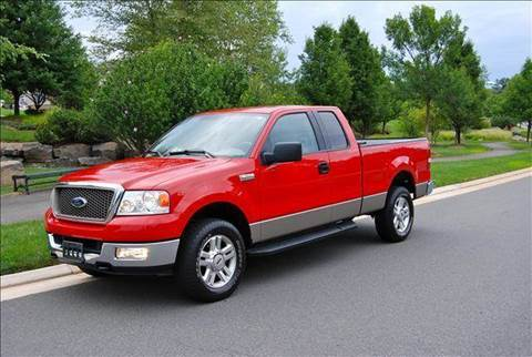 2004 Ford F-150 for sale at Blue Line Motors in Winchester VA