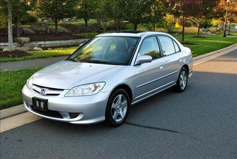 2005 Honda Civic for sale at Blue Line Motors in Winchester VA