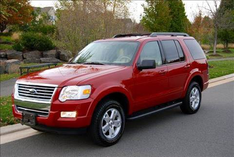 2010 Ford Explorer for sale at Blue Line Motors in Winchester VA