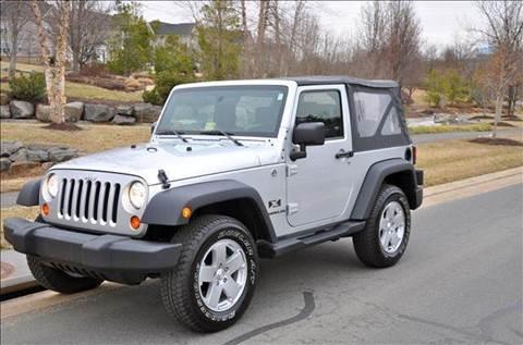2008 Jeep Wrangler for sale at Blue Line Motors in Winchester VA