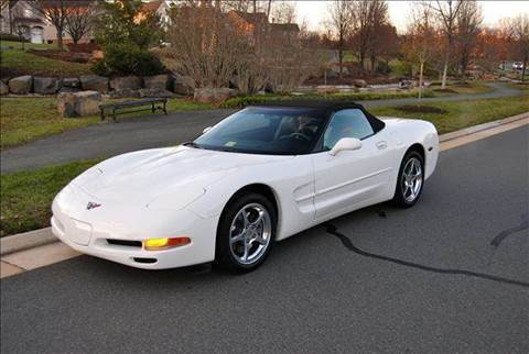 2002 Chevrolet Corvette for sale at Blue Line Motors in Winchester VA