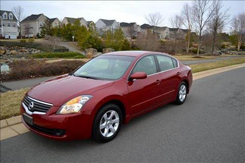 2007 Nissan Altima for sale at Blue Line Motors in Winchester VA