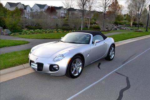 2007 Pontiac Solstice for sale at Blue Line Motors in Winchester VA