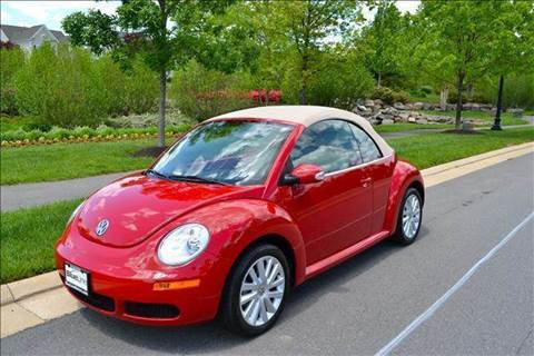 2008 Volkswagen New Beetle for sale at Blue Line Motors in Winchester VA