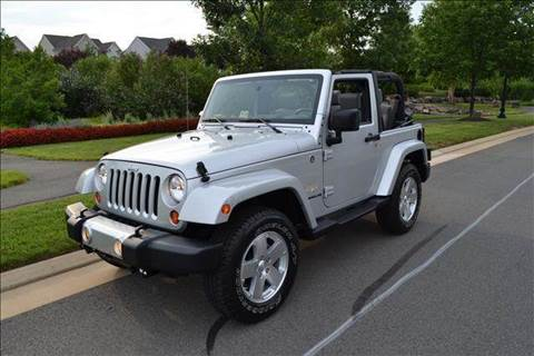 2008 Jeep Wrangler for sale at Blue Line Motors in Winchester VA