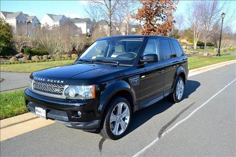 2011 Land Rover Range Rover Sport for sale at Blue Line Motors in Winchester VA