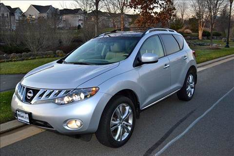 2009 Nissan Murano for sale at Blue Line Motors in Winchester VA