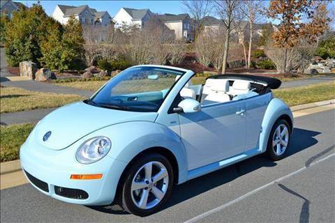 2010 Volkswagen New Beetle for sale at Blue Line Motors in Winchester VA
