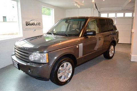 2006 Land Rover Range Rover for sale at Blue Line Motors in Winchester VA