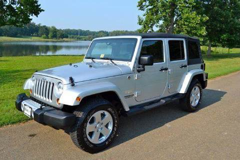 2011 Jeep Wrangler for sale at Blue Line Motors in Winchester VA