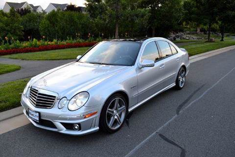 2008 Mercedes-Benz E-Class for sale at Blue Line Motors in Winchester VA