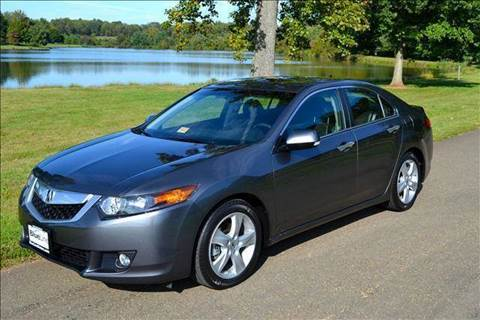 2010 Acura TSX for sale at Blue Line Motors in Winchester VA