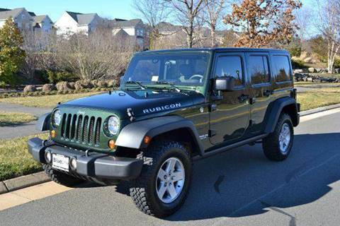 2010 Jeep Wrangler for sale at Blue Line Motors in Winchester VA