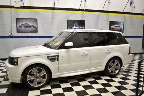 2013 Land Rover Range Rover Sport for sale at Blue Line Motors in Winchester VA
