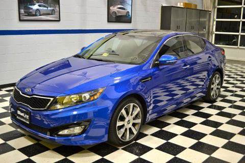 2012 Kia Optima for sale at Blue Line Motors in Winchester VA
