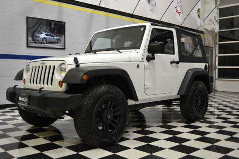 2012 Jeep Wrangler for sale at Blue Line Motors in Winchester VA