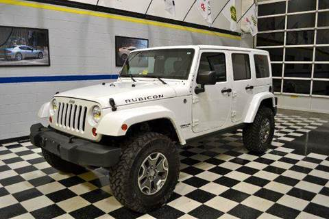 2013 Jeep Wrangler for sale at Blue Line Motors in Winchester VA