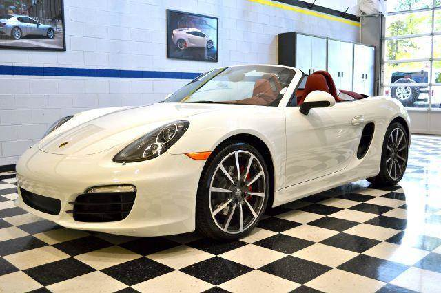 2013 Porsche Boxster for sale at Blue Line Motors in Winchester VA