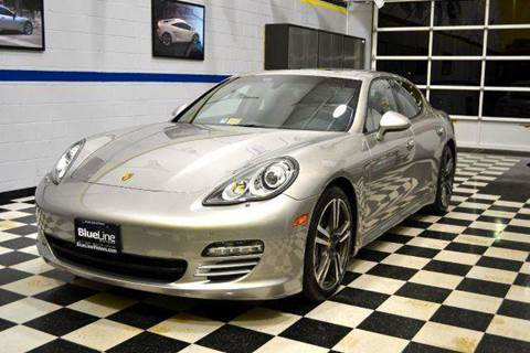 2013 Porsche Panamera for sale at Blue Line Motors in Winchester VA