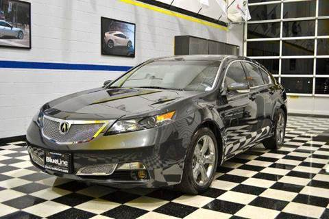 2012 Acura TL for sale at Blue Line Motors in Winchester VA