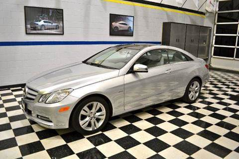 2012 Mercedes-Benz E-Class for sale at Blue Line Motors in Winchester VA