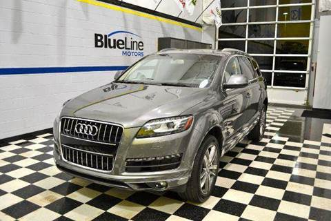 2014 Audi Q7 for sale at Blue Line Motors in Winchester VA