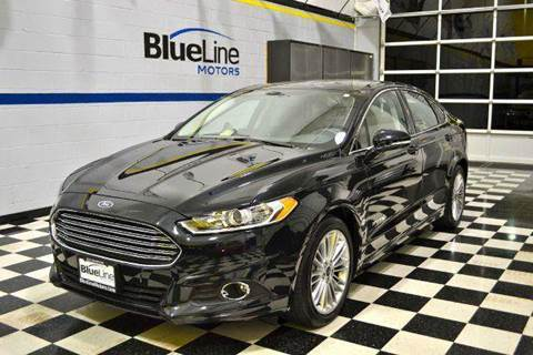2014 Ford Fusion Hybrid for sale at Blue Line Motors in Winchester VA