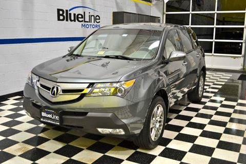 2008 Acura MDX for sale at Blue Line Motors in Winchester VA