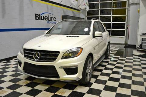 2014 Mercedes-Benz M-Class for sale at Blue Line Motors in Winchester VA