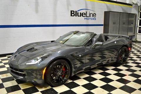 2014 Chevrolet Corvette Stingray for sale at Blue Line Motors in Winchester VA