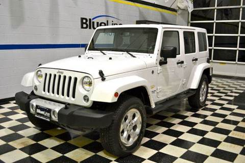 2014 Jeep Wrangler Unlimited for sale at Blue Line Motors in Winchester VA