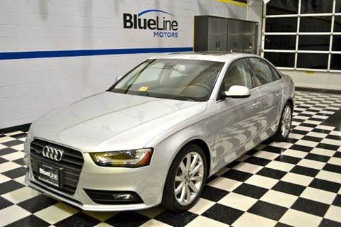 2013 Audi A4 for sale at Blue Line Motors in Winchester VA