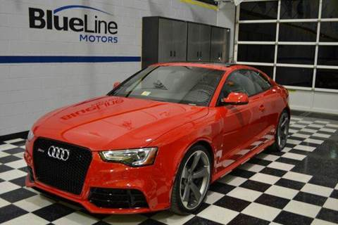 2014 Audi RS 5 for sale at Blue Line Motors in Winchester VA