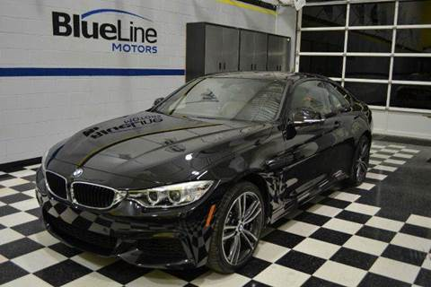 2015 BMW 4 Series for sale at Blue Line Motors in Winchester VA