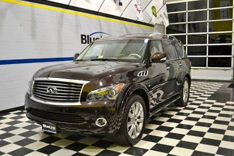 2014 Infiniti QX80 for sale at Blue Line Motors in Winchester VA