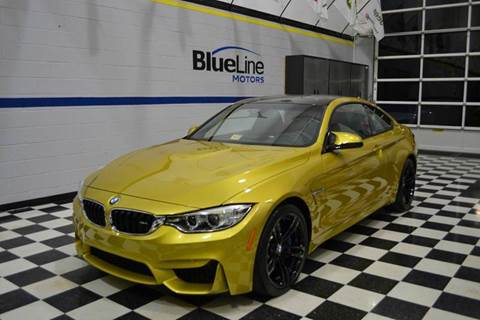 2015 BMW M4 for sale at Blue Line Motors in Winchester VA