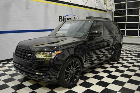 2014 Land Rover Range Rover for sale at Blue Line Motors in Winchester VA
