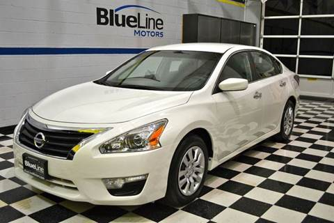 2013 Nissan Altima for sale at Blue Line Motors in Winchester VA