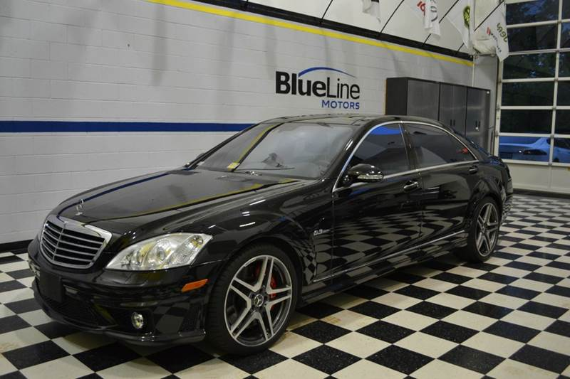 2008 Mercedes-Benz S-Class for sale at Blue Line Motors in Winchester VA