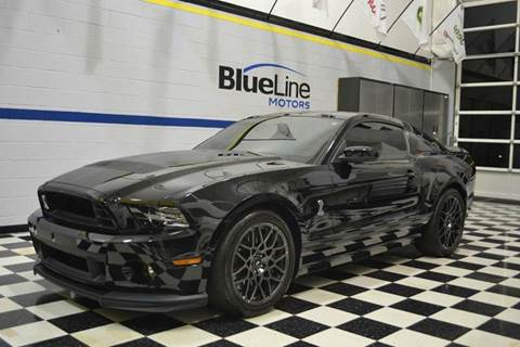 2014 Ford Shelby GT500 for sale at Blue Line Motors in Winchester VA