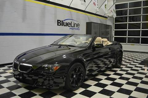 2005 BMW 6 Series for sale at Blue Line Motors in Winchester VA