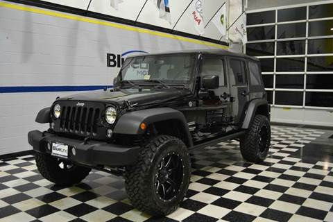 2015 Jeep Wrangler Unlimited for sale at Blue Line Motors in Winchester VA