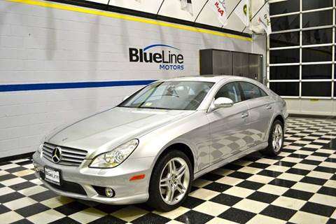 2006 Mercedes-Benz CLS for sale at Blue Line Motors in Winchester VA