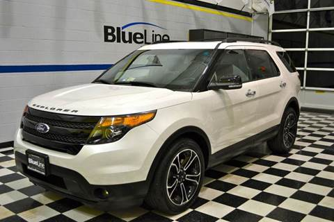 2014 Ford Explorer for sale at Blue Line Motors in Winchester VA