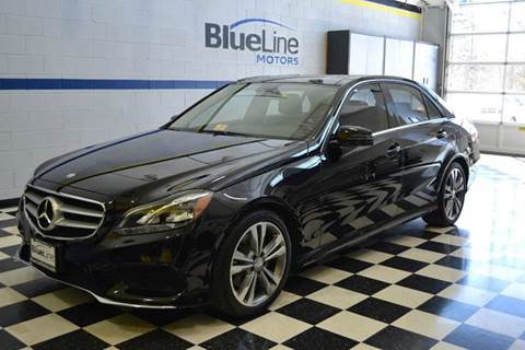2014 Mercedes-Benz E-Class for sale at Blue Line Motors in Winchester VA