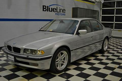 2001 BMW 7 Series for sale at Blue Line Motors in Winchester VA